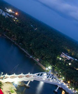 ashram twilight view