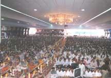 New Darshan hall