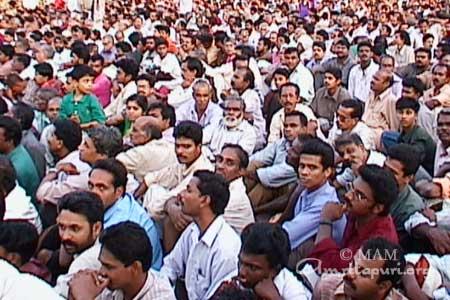Crowd gathered to attend Ammas Trissur program