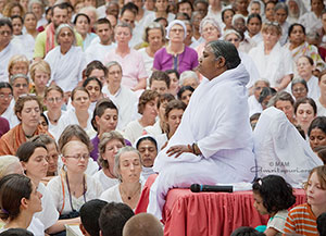 On Guru: Amma says