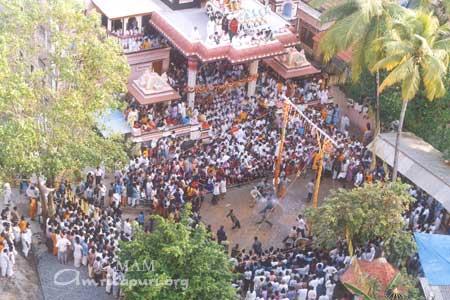Janmashtami celebrations in Amritapuri