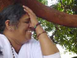 Amma laughing