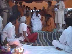 Amma praying
