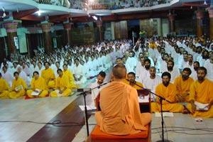 Vedanta class by Swami Chidananda Puri