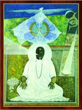 Painting of Amma