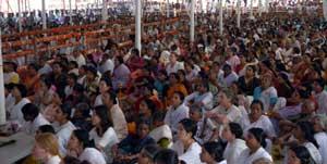 Devotees in Kozhikode