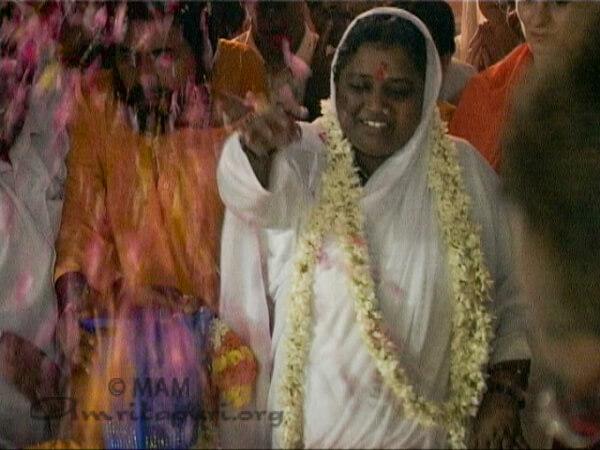Amma in Trivandrum