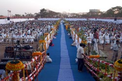 Amma's path in Pune