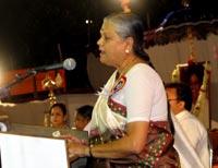 Smt. Jayawantiben Mehta, the Honourable Minister of Power