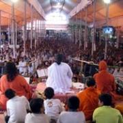 Amma on stage in Palakkad