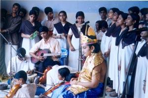 Onam celebration at Parippally