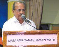Honourable Minister of Health and Family Welfare for Kerala, Shri. Ramachandran Master, inaugurated an Amrita Charitable Hospital in Kalpetta