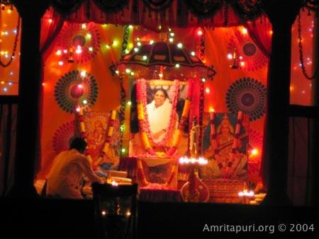 Vijaya Dhashami celebrations in Amritapuri