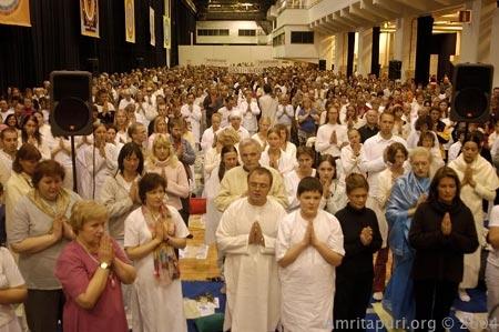 Devotees in Finland