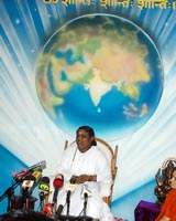 Amma holds press conference