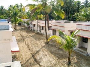 Tsunami houses built by MAM