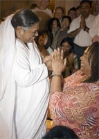 Amma with Yolanda King