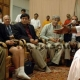 Amma holds discussions with U.S. professors