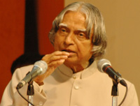 Dr. A.P.J. Abdul Kalam, President of India