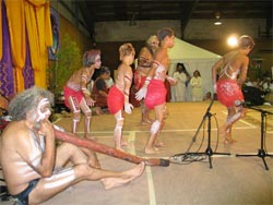 Australian tribal performance