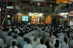 Guru Purnima celebrations in Amritapuri