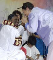 Amma with Dhyani Ywahoo