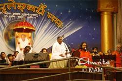 Amma on stage
