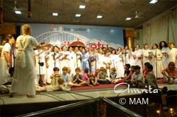 Christmas play in Amritapuri