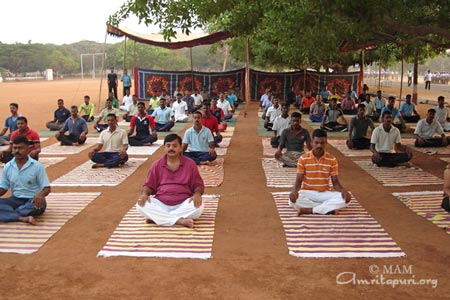 IAM meditation for police