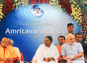 Amma laying foundation of Modern India