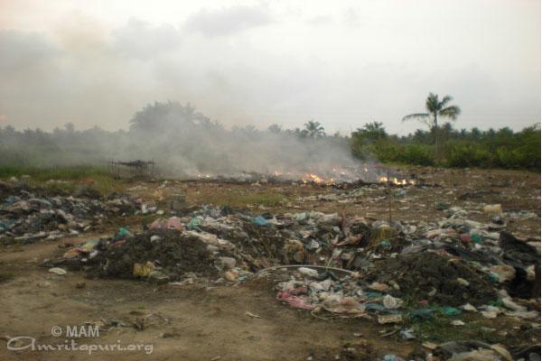 waste dumpsite