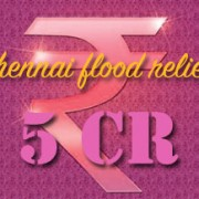 5cr- for chennai flood relief