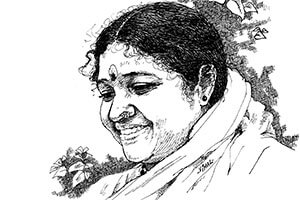 Drawing of Amma
