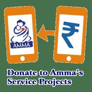 Ashram - Amma, Mata Amritanandamayi Devi