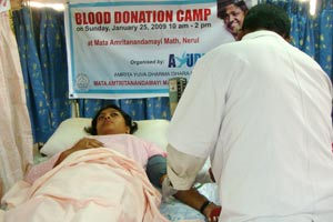 Blood donation in Mumbai