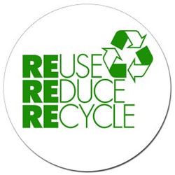 Reuse, Reduce & Recycle logo