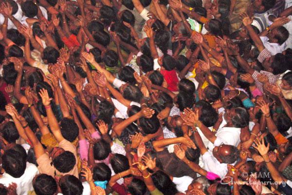 Amma's visit to Kozhikode - 2002 - Amma, Mata