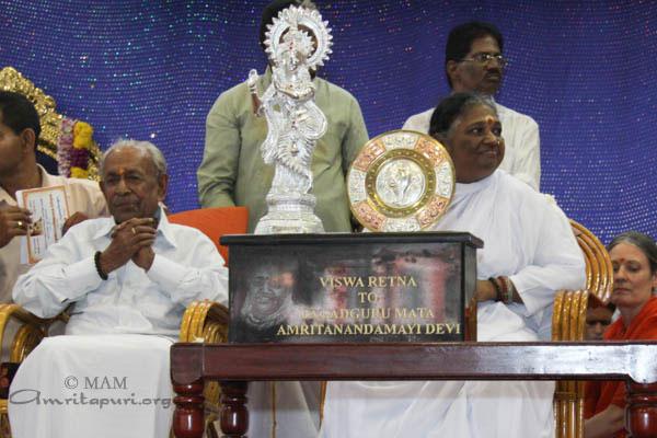 the Maharaj and Amma