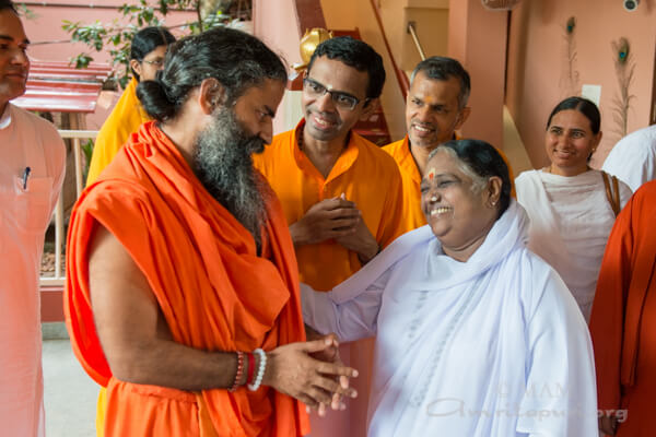 Amma is my greatest inspiration and ultimate ideal – Baba Ramdev