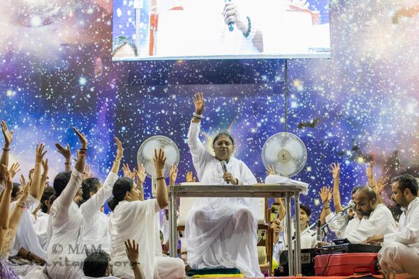 Amma's programme in Kokhizode, Kerala in March